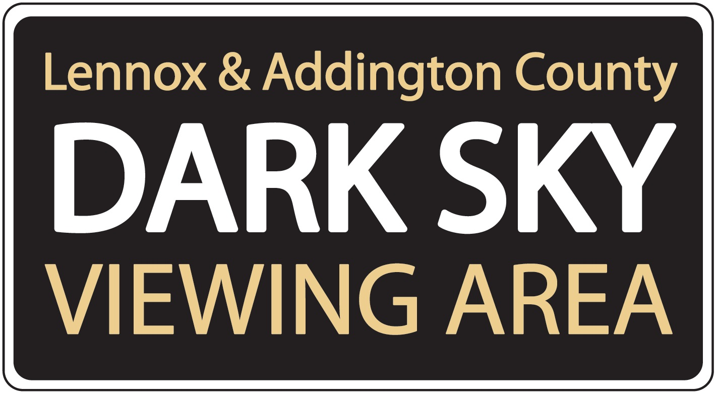 Dark Sky Viewing Area Logo