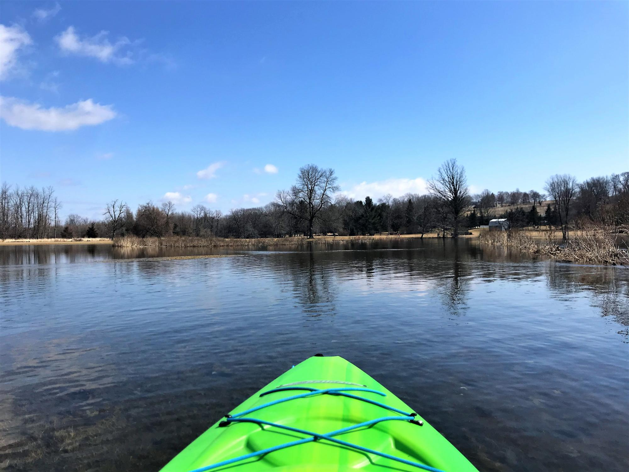 Napanee River Kayak Spring3.JPG