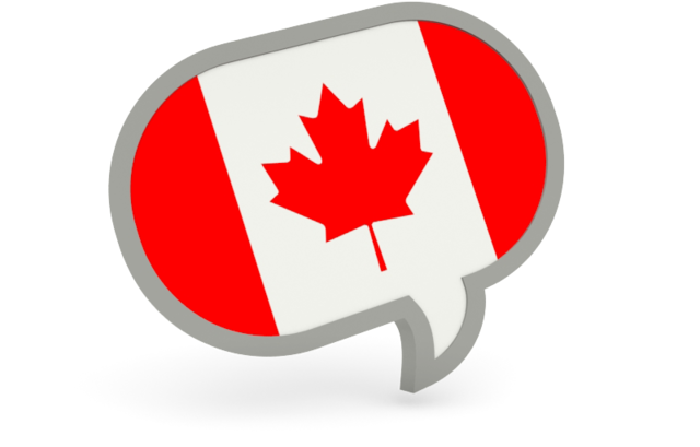 canada text bubble