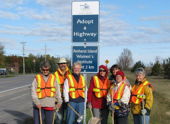 adopt a highway participants road side
