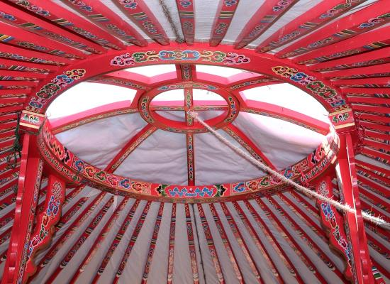 Yurt at Topsy Farms