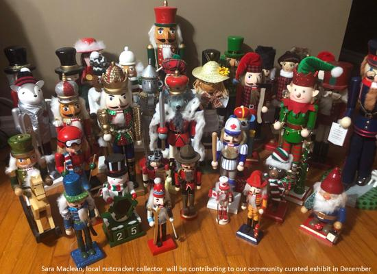 A bunch of nutcrackers