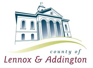 Lennox & Addington County Logo
