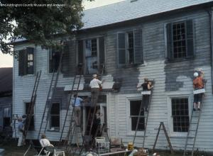Painting the Macpherson House