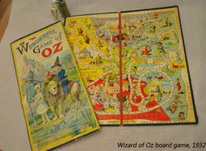 Wizard of Oz Board Game, 1932